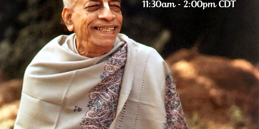 Srila Prabhupada Vyasa Puja Celebration - Sunday Feast