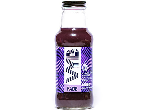 VYB Fade Beverage 50mg THC per 10oz Bottle (Min Order 50 Units)