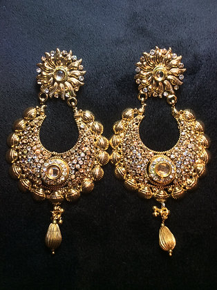 Sparkling Stone Earrings