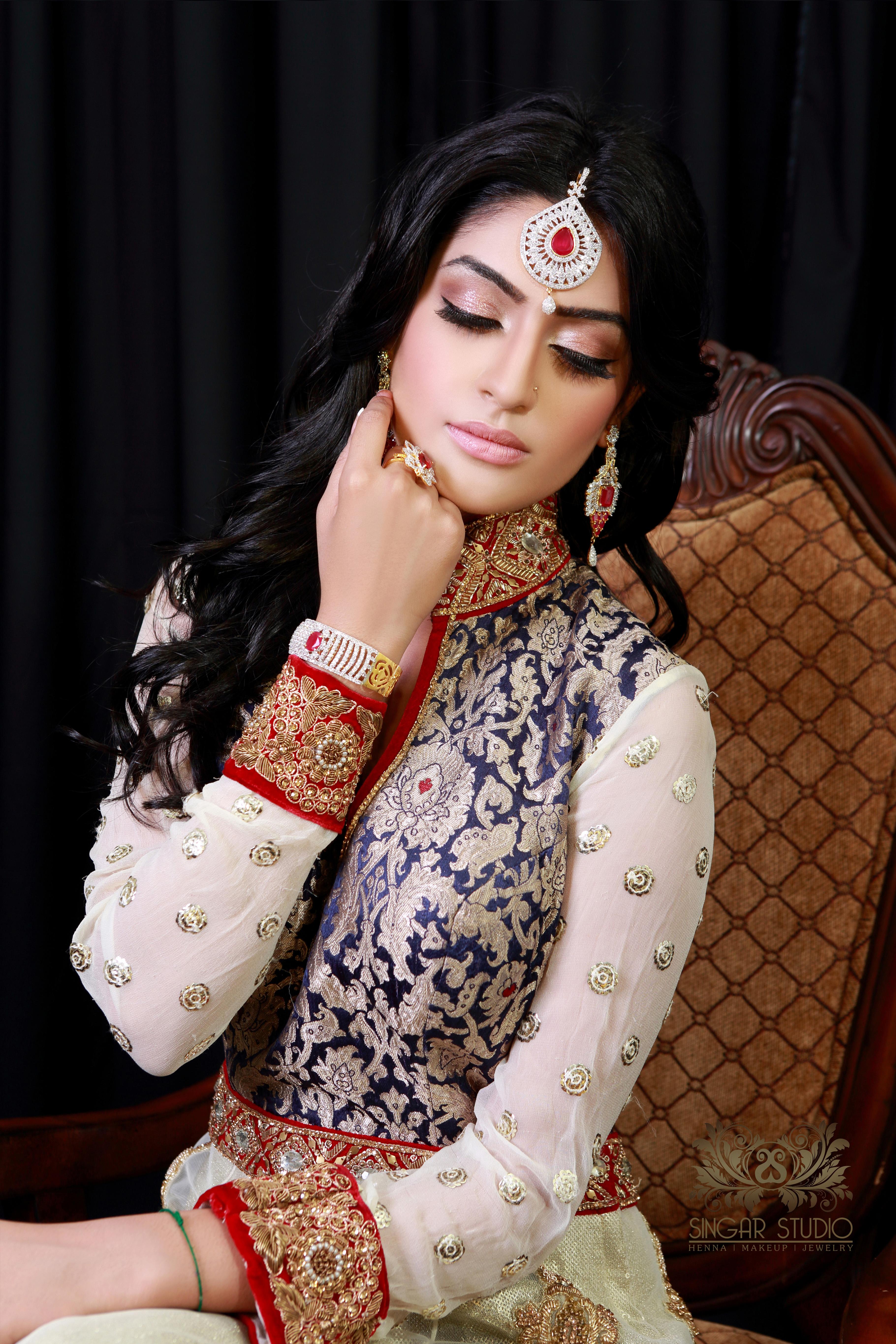 Indian Bridal Makeup Photoshoot