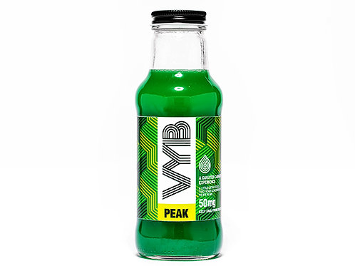 VYB Peak Fruit Chew Beveage 50mg THC per 10oz Bottle (Min Order 50 Units)