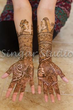 Bridal Mehndi Dulha Hulhan