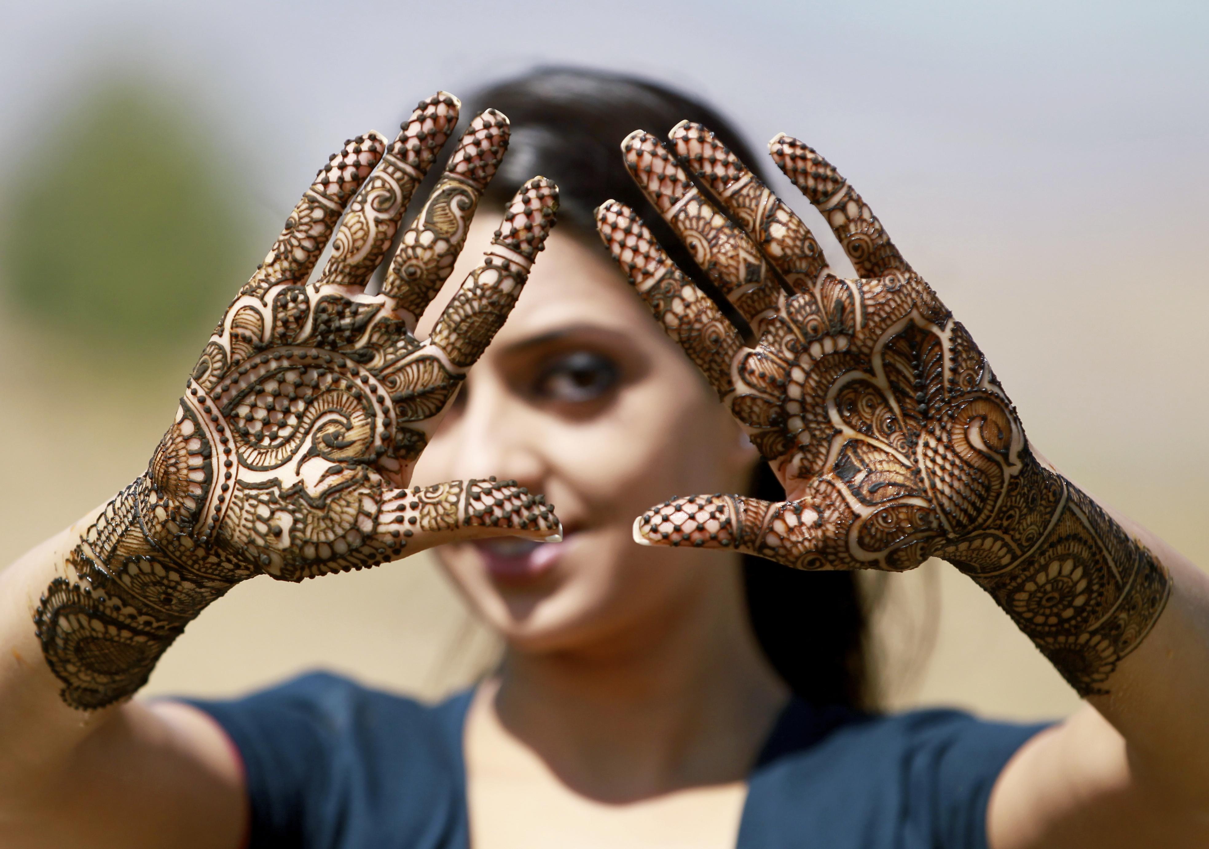 Simple Bridal Mehndi