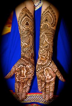 Bridal Mehndi Peacocks