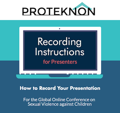 FOR GLOBAL ONLINE CONFERENCE SPEAKERS: HOW TO RECORD YOUR PRESENTATIONS