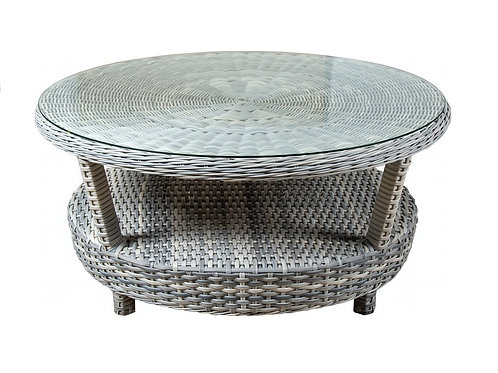 South Beach Outdoor Wicker Gathering Table