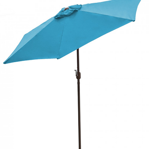 Panama Jack Teal 9 Ft Alum Patio Umbrella W/Crank
