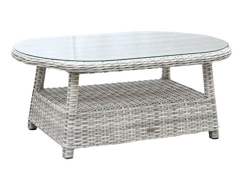 South Beach Outdoor Wicker Coffee Table
