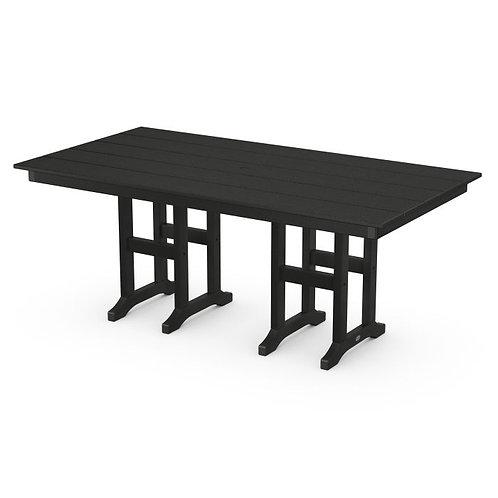 """POLYWOOD® Farmhouse 37"""" x 72"""" Dining Table"""