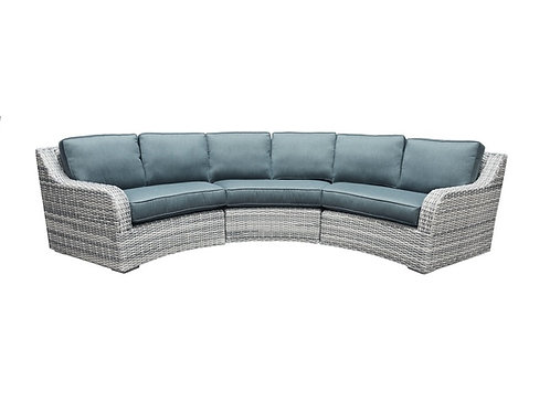 South Beach Outdoor Wicker Sectional