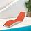 Thumbnail: PJ Curve Stackable Sling Chaise Lounge