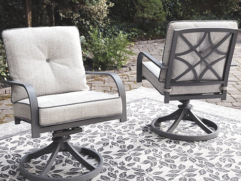 Donnalee Bay Outdoor Swivel Lounge Chair