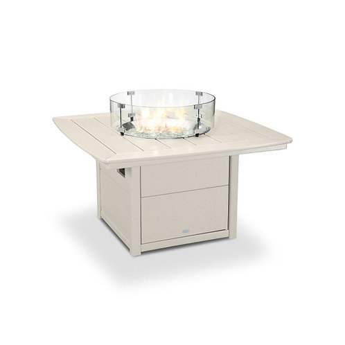 """POLYWOOD® Nautical 42"""" Fire Pit Table"""