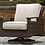 Thumbnail: Paradise Outdoor Swivel Lounge Chair