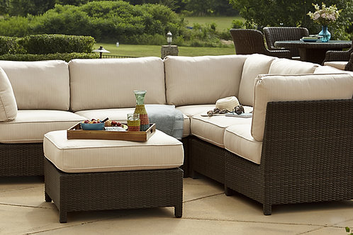 Tilbury Outdoor 6 Pc Sectional Set by Beachcraft