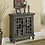 Thumbnail: Chippendale Lattice 2 Door Cabinet w/ Glass