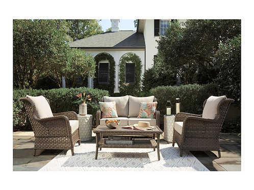 ClearRidge Wicker Seating Set