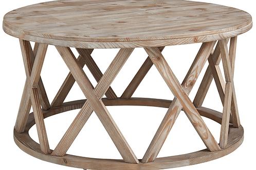 Round X Coastal Coffee Table