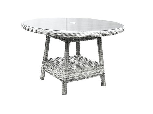South Beach Outdoor Wicker Large Dining Table