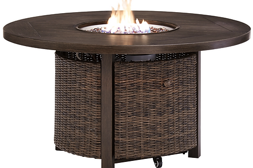 """Paradise Round 48"""" Fire Pit Table"""