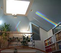 Takljuskupolen med ljusspektra