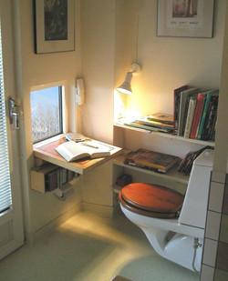 Läsbord wc