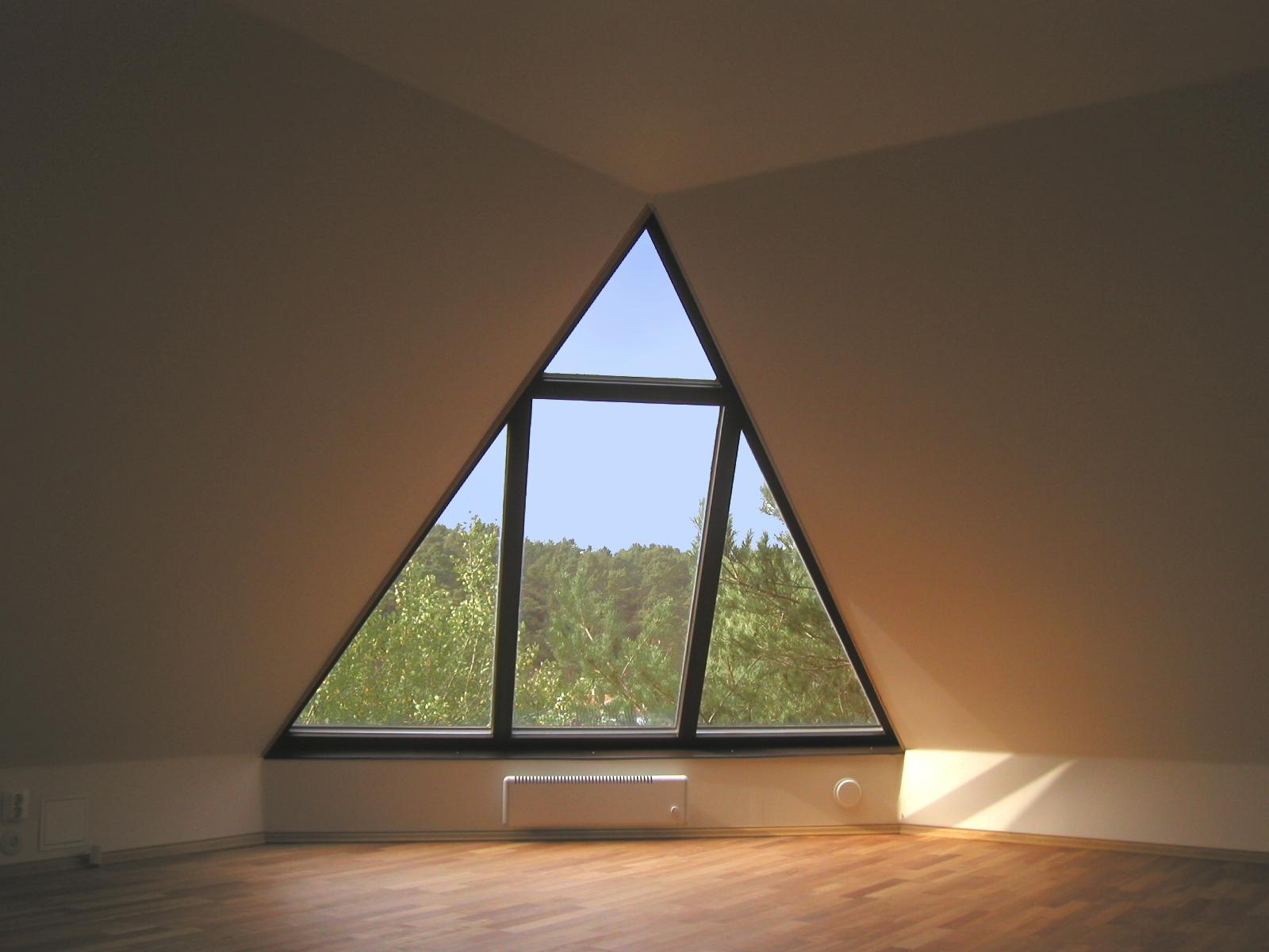Hörnfönster i villa
