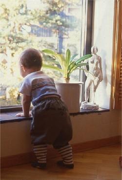 Fönster för barn