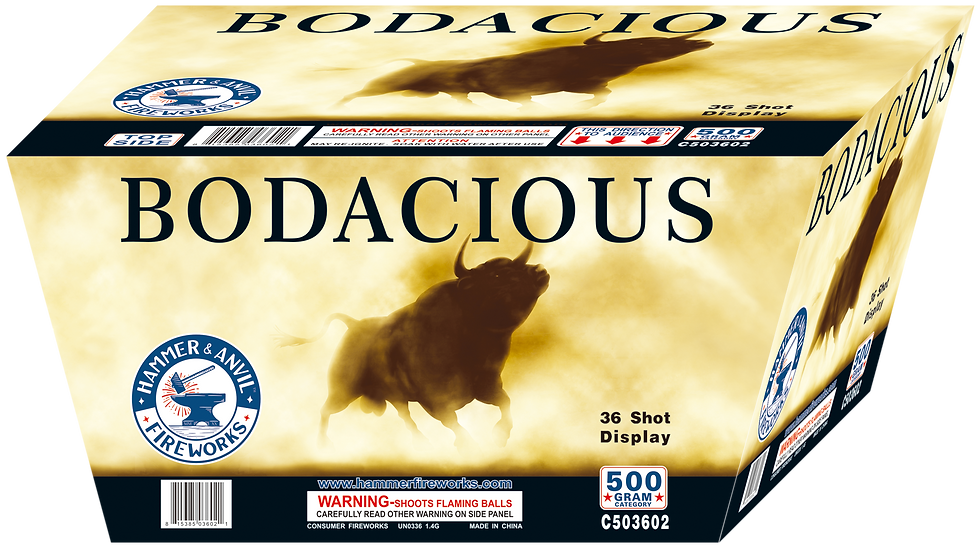 BODACIOUS 36 SHOT
