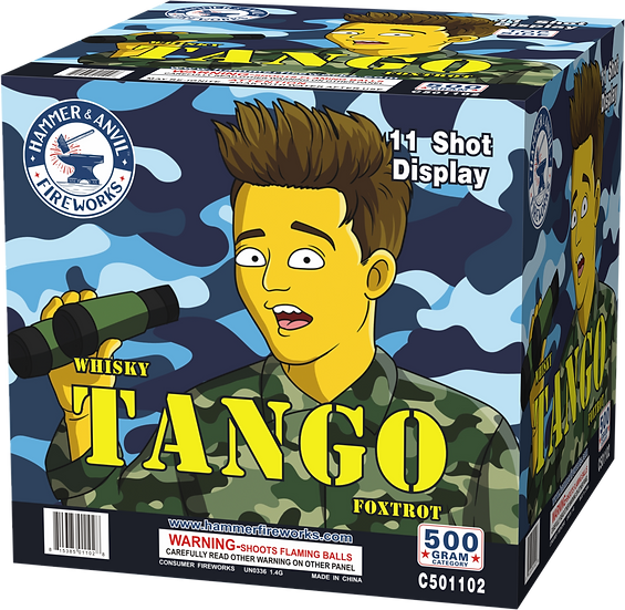 TANGO 11 SHOT (WTF 500G ASSORTMENT)