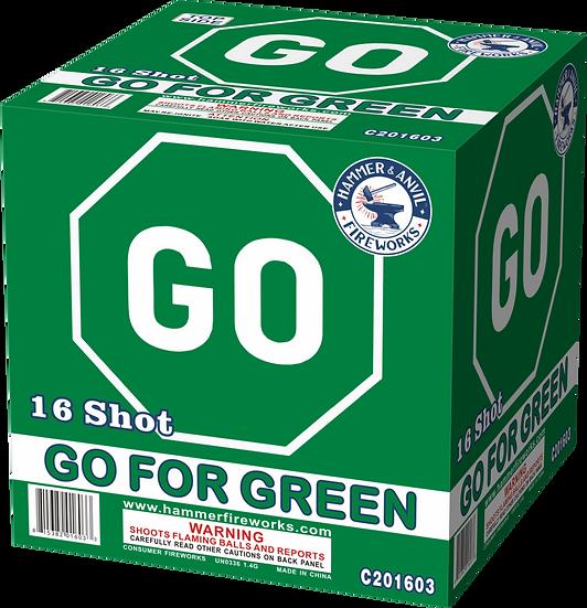 GO FOR GREEN 16 SHOT