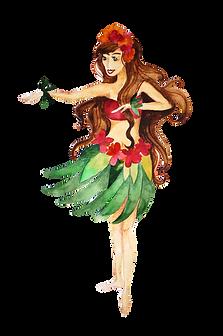 Give The Gift of Aloha Hula Girl