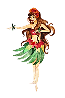 Give The Gift of Aloha Hula Girl