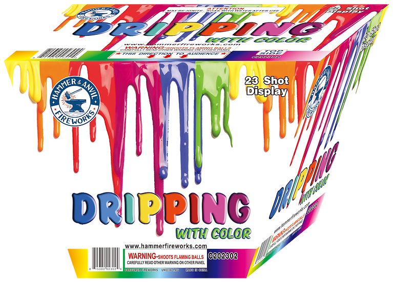 DRIPPING WITH COLOR 23 SHOT