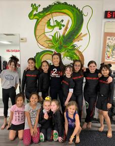 Girls Jiu-jitsu