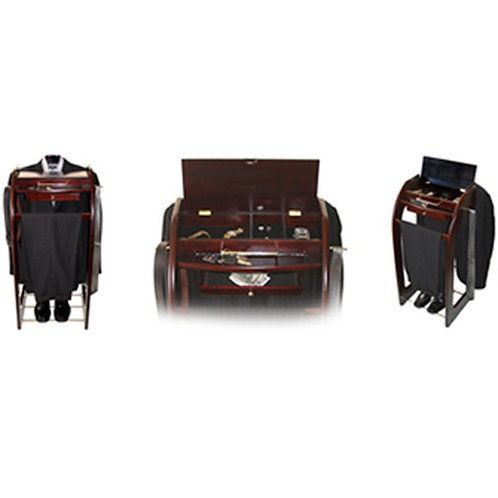 Mens Clothing Valet Suit Stand Organizer