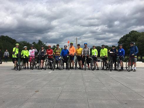head on all cyclists bike 2019 Washingto