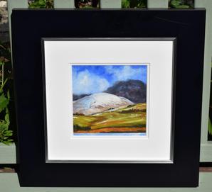 Pentland Hills oil painting -code 4