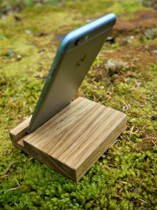 Oak Phone Stand (2) - Chris Early.jpg