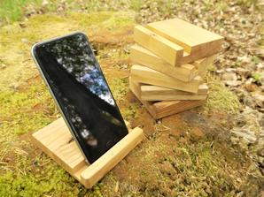 Scottish Hardwood Phone Stands - Chris E
