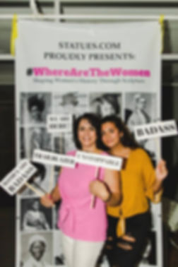 Evi and Victoria at Backer Poster.jpg