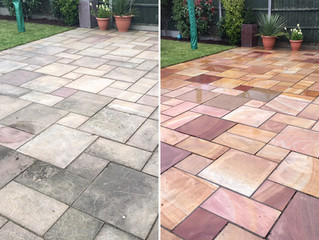 Patio Cleaning in London