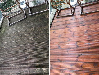 Balcony Cleaning in London