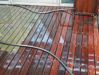 Wood Decking Cleaning Services in London