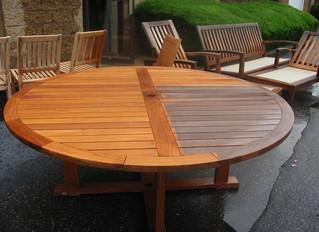 Teak Garden Furniture Restoration Services
