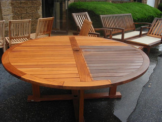Teak Garden Furniture Restoration Services