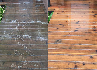 Decking Cleaning in London & Decking Cleaning Service