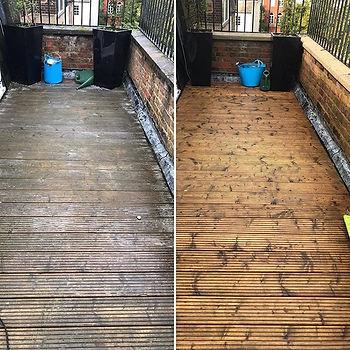 terrace cleaning in london