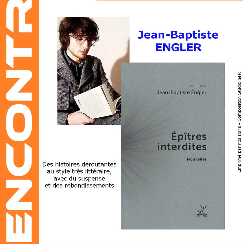 Epîtres interdites - Jean-Baptiste Engler