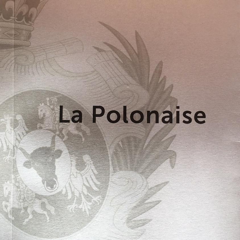 Parution La Polonaise - Gilbert Mercier